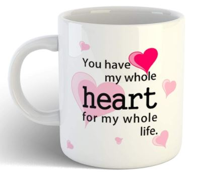 a coffee cup to gift a men