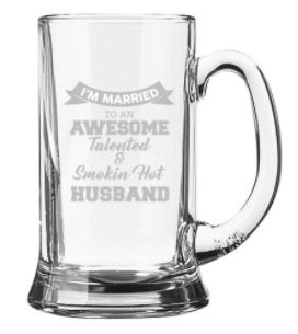 beer mug to gift husbands