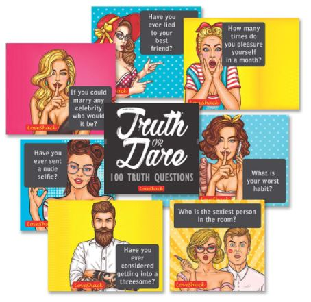 naughty dare or truth cards to play with husband