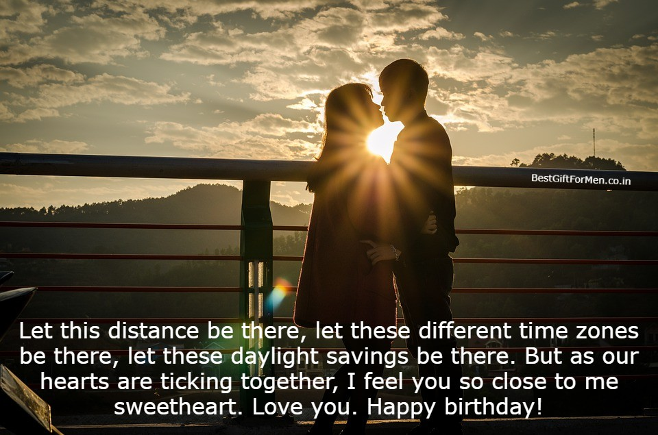long distance birthday wishes for husband