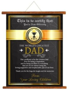 best retirement gift for father