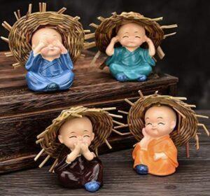 happy monks to gift men