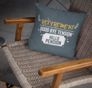 relaxing pillow to gift retiree