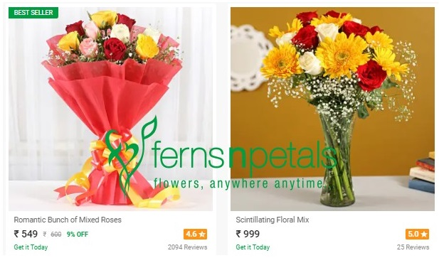 buy online flowers at fnp